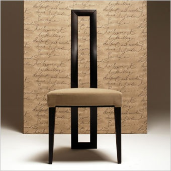1000 images about art furniture on pinterest peugeot for Modern high back dining chairs