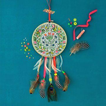 Fabriquer un dreamcatcher - Marie Claire Idées