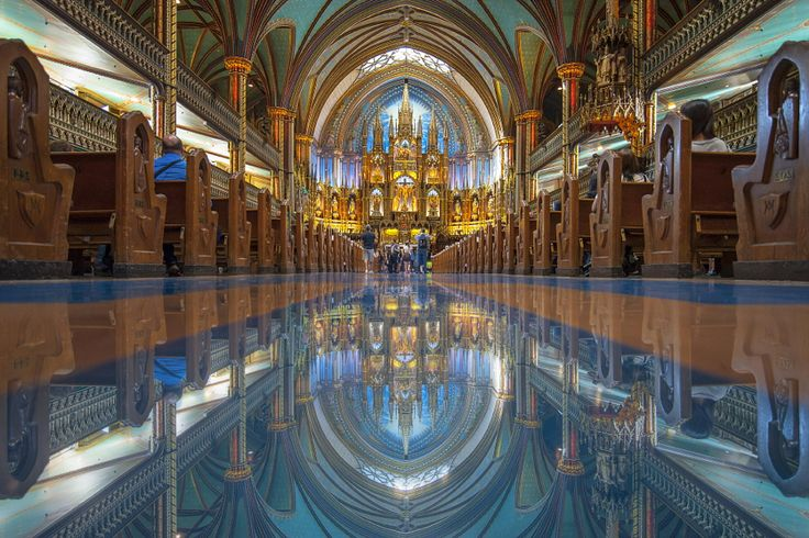 Ethereal Images of Places of Worship