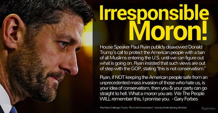 In December, House SpeakerRep. Paul Ryan (R-WI)successfully pushedthrough Congress his $1.1 trillion omnibus spending bill that will also fund visas for nearly 300,000 more Muslim migrants over the next 12 months. Breitbart The omnibus bill also funded sanctuary cities, illegal alien tax credits, and changedfederal law to allow for a massive increasein low-skilled H-2B workers–