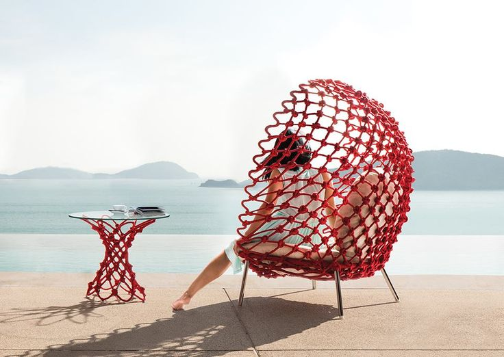 63 best Outdoor Living images on Pinterest Backyard furniture - designer gartenmobel kenneth cobonpue