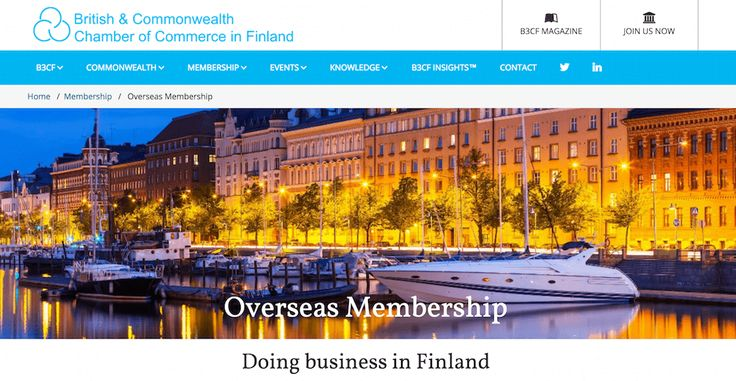 Finland offers opportunities across the entire value chain for companies from the Commonwealth with competitive products and services.