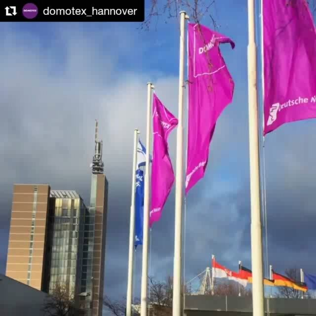 #Repost @domotex_hannover with @repostapp ・・・ Day 2 is about to begin! What are you looking forward to the most?  Stay tuned for live feeds ⏳ #domotex2017 #Hannover #Germany #MakeInIndia #HomeDecor #carpets #Handmade #LuxuryInteriors #Interior