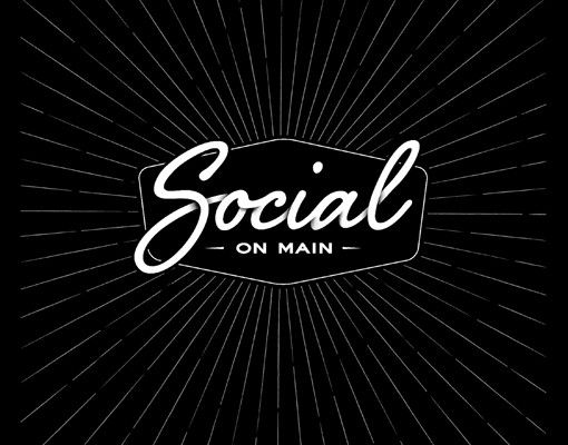 Social on Main logo design. www.room13.co.za