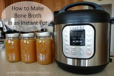 How to Make Bone Broth in an Instant Pot Recipe plus 24 more Paleo Instant Pot recipes