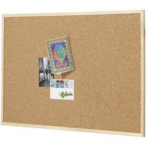 Quartet Pine Frame Corkboard 900x600mm