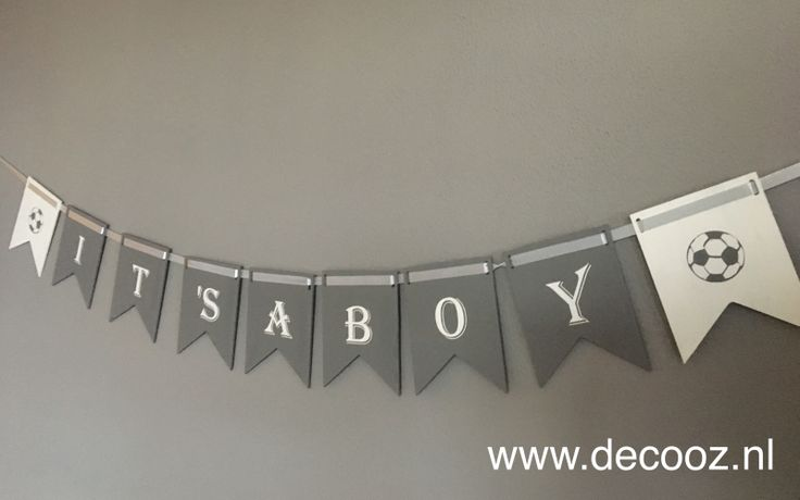Vlaggenlijn its a boy, its a boy banner
