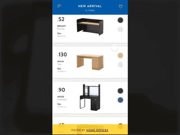 Hey guys,  I'm still trying to be a ninja'prototyper, I'm getting close!  You can check here the protoype on iPhone  So yesterday, in my free-time, I made this concept for an Ikea ecommerce/shop. I...