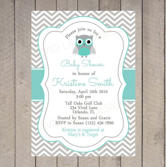 Vintage Owl Baby Shower Invitations: 1000+ Ideas About Owl Baby Showers On Pinterest