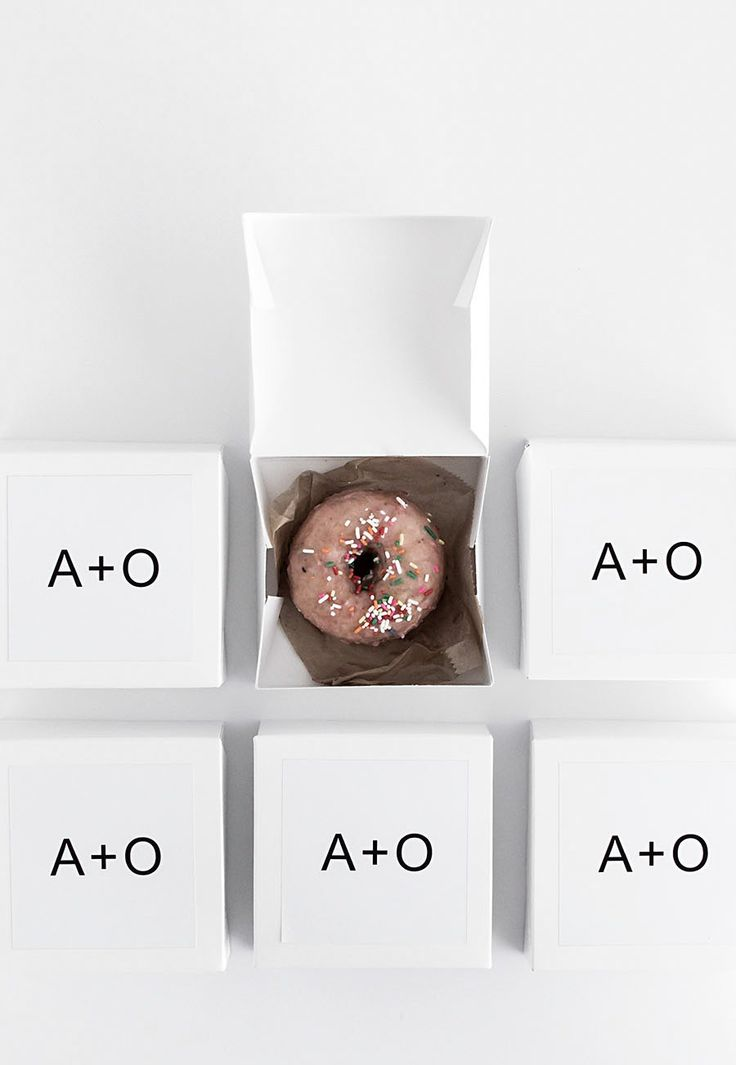These cute and modern wedding favors will send guests home with a tasty treat.