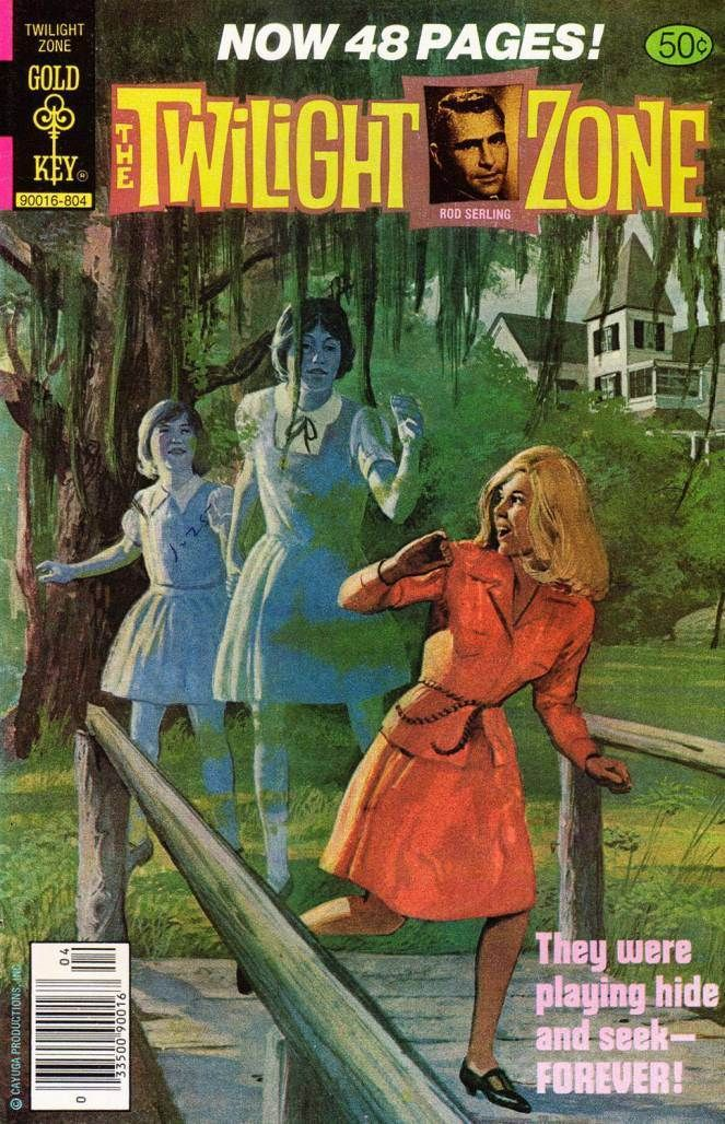 Old Book Cover Zone : Best twilight zone comics images on pinterest