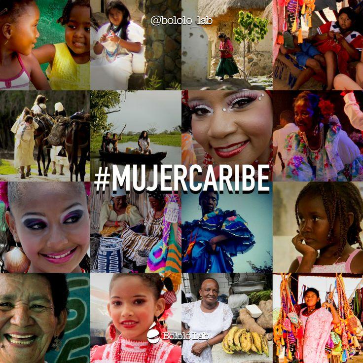 Hoy #DíaDeLaMujer rendimos con nuestra alma un homenaje a la mujer caribe | #diadelamujer #mujercaribe