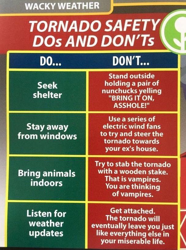 Wacky Weather - Tornado Safety