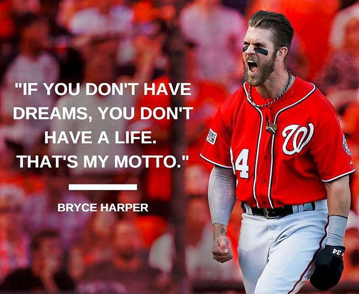 Bryce Harper with some truth.