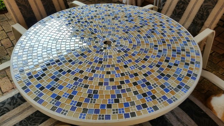 My mosaic table