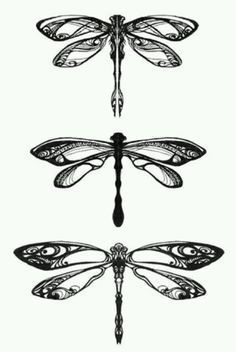 Dragonfly-strong lines, bold. But simple design with just enough details …                                                                                                                                                                                 More