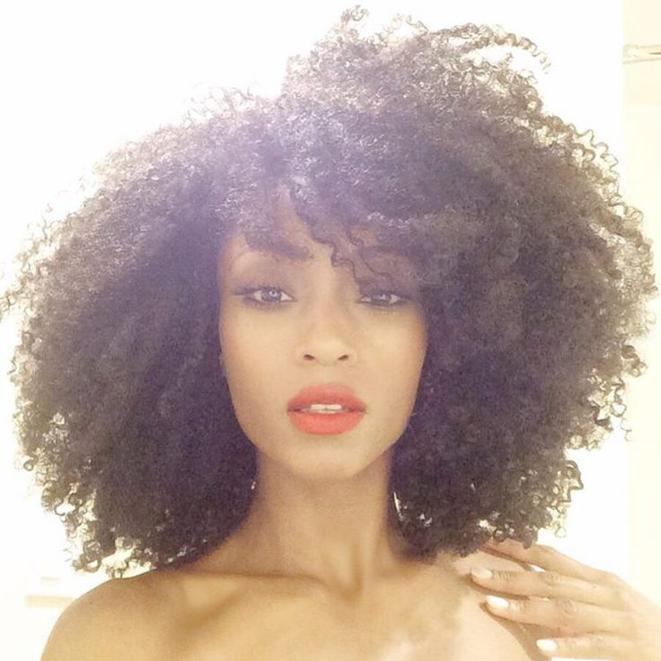 Yaya DaCosta The Beauty Of Natural Hair Board