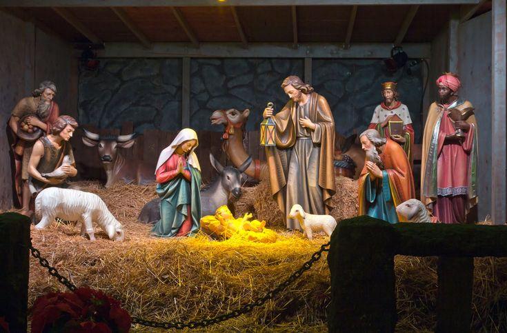 Nacimiento de Jesús en el Pesebre - Imágenes Navideñas | Banco de Imágenes, Fotos y Postales...
