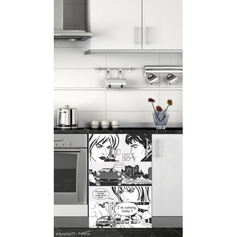1000 id es propos de stickers frigo sur pinterest stickers pour frigo sticker frigo et. Black Bedroom Furniture Sets. Home Design Ideas