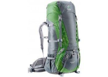 Deuter Aircontact 65+10L  Hiking Rucksack Backpack - EMERALD