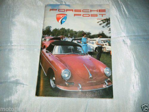 PORSCHE-POST-SPRING-1988-356-RESTORATION-PORSCHE-CLUB-GB-MAGAZINE-TRACTOR