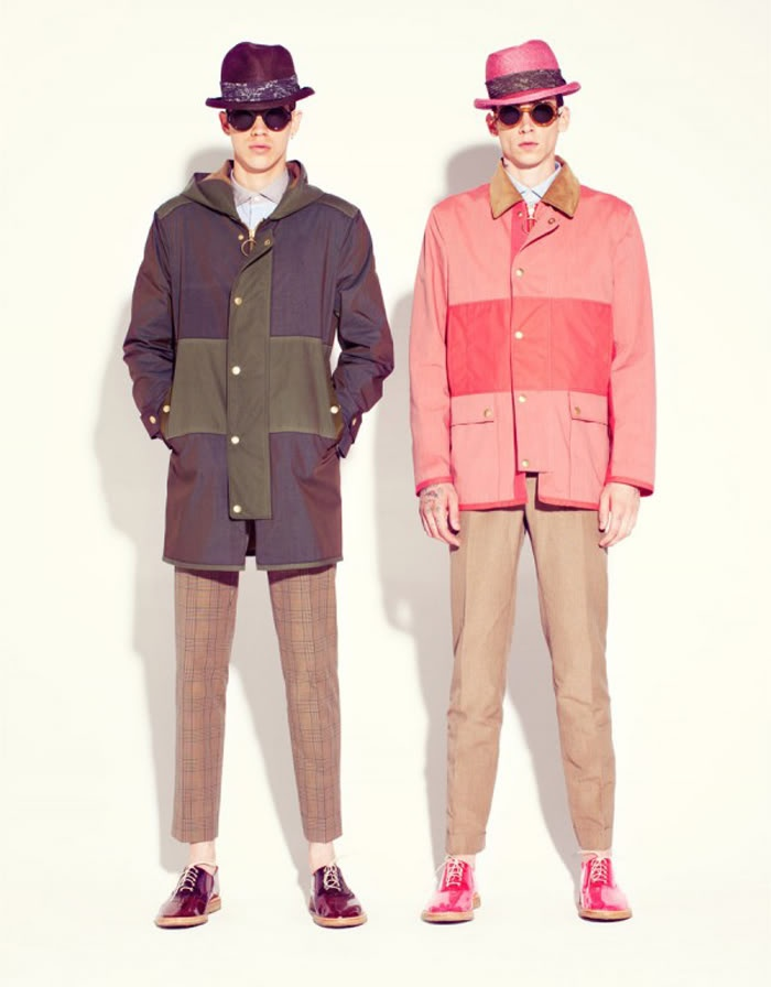 Marc Jacobs. Brighten it up lads!!!