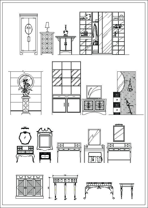 Fresh Sofa Cad Block Elevation And Furniture Elevation