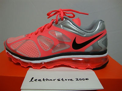 Christmas gift Top Value Nike Air Max 2012 Yellow Red Sports Shoes