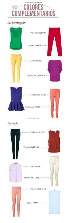 Como combinar prendas complementarias de una manera muy fácil