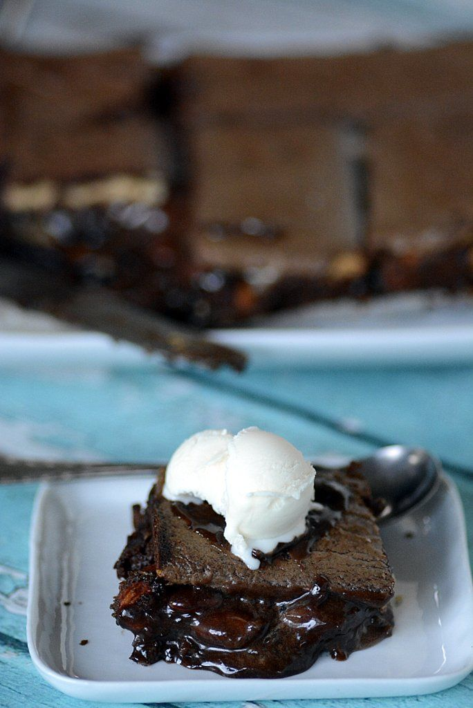 molten lava brownie coconut marshmallow sm'ores | Ally's Kitchen #BakeWeek