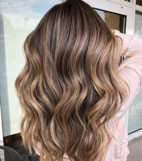 50 Ideas for Light Brown Hair with Highlights and Lowlights in 2019  hairstyles  Brown hair