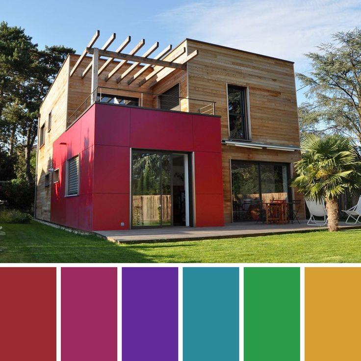 Las 25 mejores ideas sobre colores de pintura exterior en for Pintura de exteriores de casas pequenas
