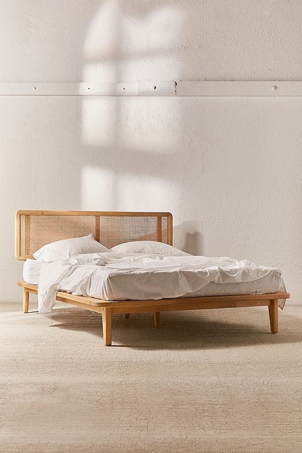 9 Affordable Urban Outfitters Finds That Look Like Expensive High End Designs Platform Bed Designs Futon Bed Frames Queen Size Bed Frames