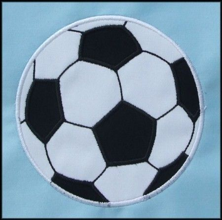 Soccer Ball Applique designs 3 sizes by DBembroideryDesigns, $4.99