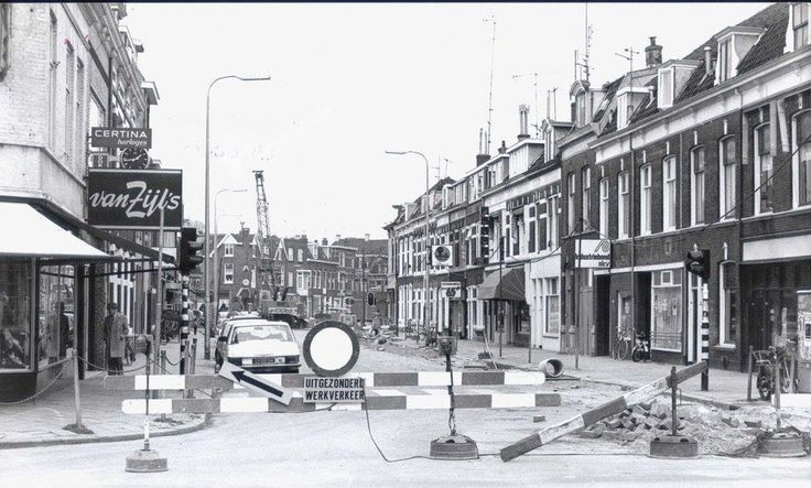 Damstraat Utrecht 1978 - Foto's SERC