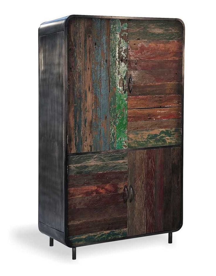 Titanic #Retro #Wardrobe is made from a old boat woods, to create that #Vintage look. #BigLivingUK  have just this! http://www.bigliving.co.uk/furniture/bedroom/cheap-single-corner-wardrobes/titanic-retro-wardrobe.html