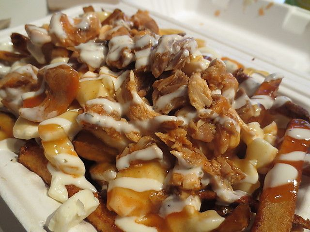 ... Poutine on the Ritz! on Pinterest | Bacon, Poutine recipe and Gravy