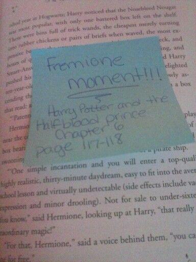 Fred Weasley and Hermione Granger moment!!! hoooooooo my dear Good