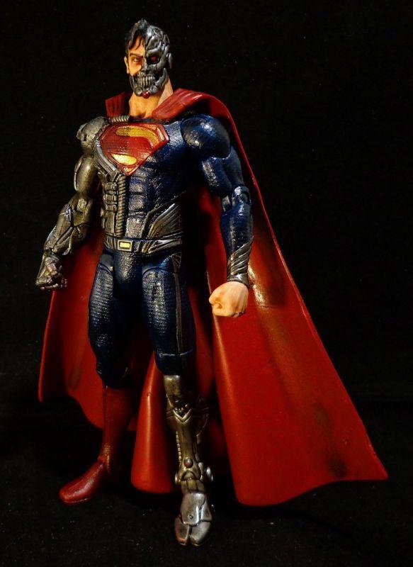 Cyborg Superman (DC Universe) Custom Action Figure
