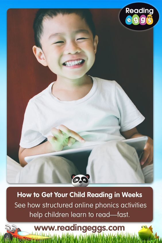 Learn to read with Reading Eggs – the multi-award winning online reading programme for kids aged 2–13! If you haven't ready tried the programme, you can sign up for an exclusive 4 week free trial* at www.readingegs.co.uk/gaw/pin3.  *Valid for new customers only. Offer ends 28 February 2018.