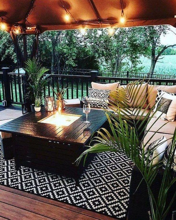 40+ Inexpensive Deck Patio Design Ideas For Backyard ...