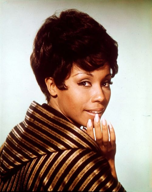 Singer/actress Diahann Carroll