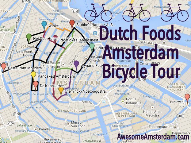 DUTCH FOODS BICYCLE TOUR OF AMSTERDAM