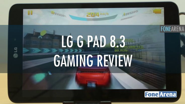 LG G Pad 8.3 Google Play Edition Gaming Review (+playlist)