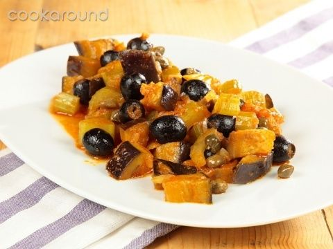 Caponata di melanzane: Ricetta Tipica Sicilia | Cookaround