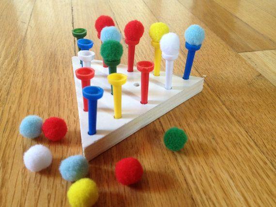 121 best images about little hands on pinterest loom for Montessori fine motor skills