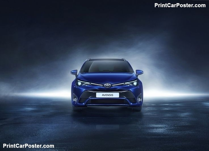 Toyota Avensis 2016 poster, #poster, #mousepad, #tshirt