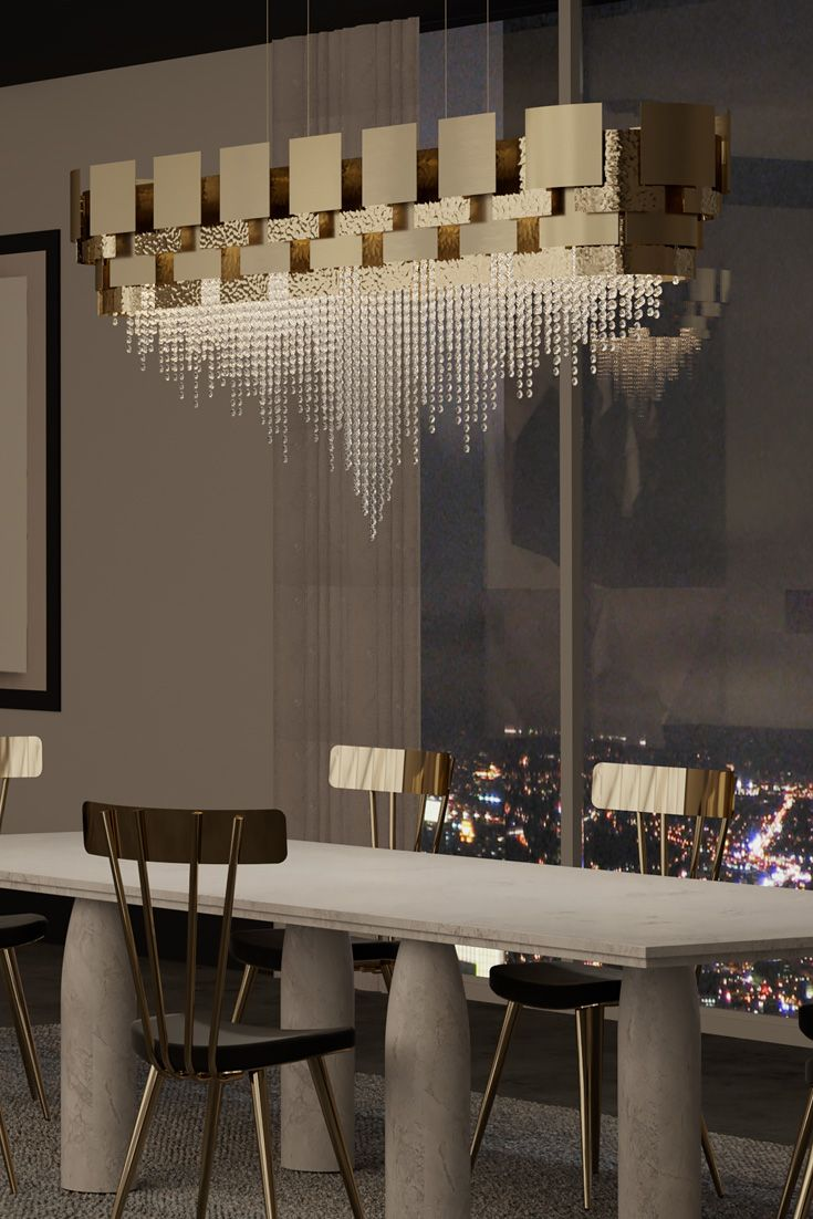 Large Oval Italian Designer Gold Plated Crystal Chandelier Contemporary Crystal Chandelier Popular Interior Design Dining Room Design
