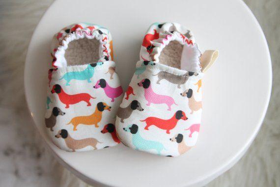 Babyclothes Babyfashion 6 12 Months Dachshund Baby Shoes Dog Baby Shoe Dachshund Dachshund Baby Clothes Baby Bo Baby Boy Shoes Baby Girl Shoes Baby Shoes