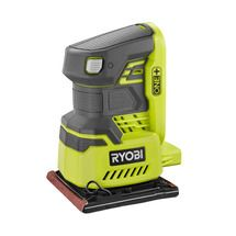 """Check out this RYOBI product - Introducing the Ryobi ONE+ 18V Quarter Sheet Sander. This cordless finish sander features a ¼"""" sheet design that works with a majority of sandpapers and a lock on switch for easy operation. Its dust collection bag will keep your work surfaces clean and its vacuum adaptor port will always make any necessary clean up quick and easy (adaptor not included). With 12,000 RPM and over 40 minutes of runtime, you will always have enough power to get the job done. Thi..."""
